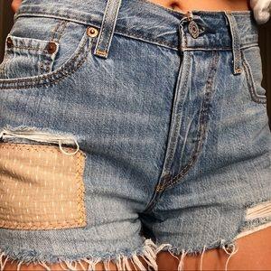 Levi's women's size 25 Jean shorts